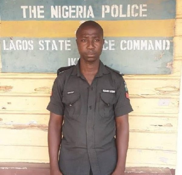 Sergeant Lukmon Akanbi