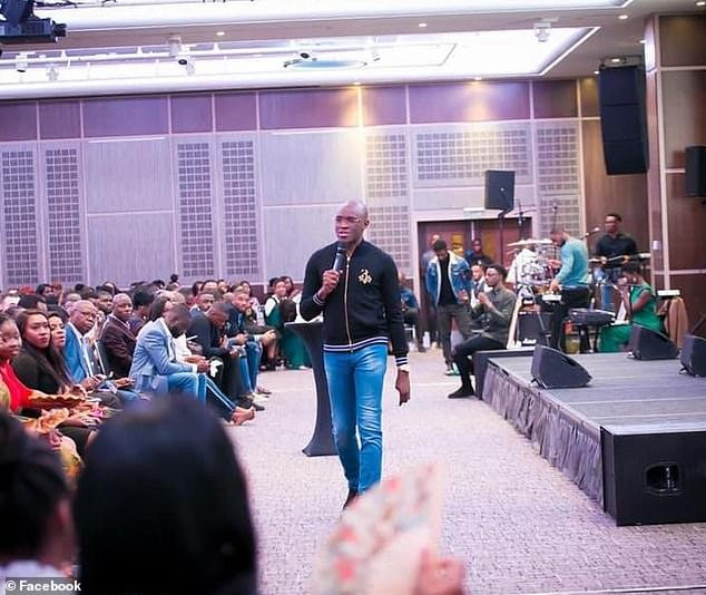 Lead Pastor of SPAC Nation Pastor Tobi Adegboyega Preaching