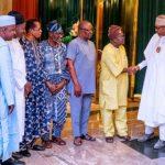 ASUU leadership visit Buhari