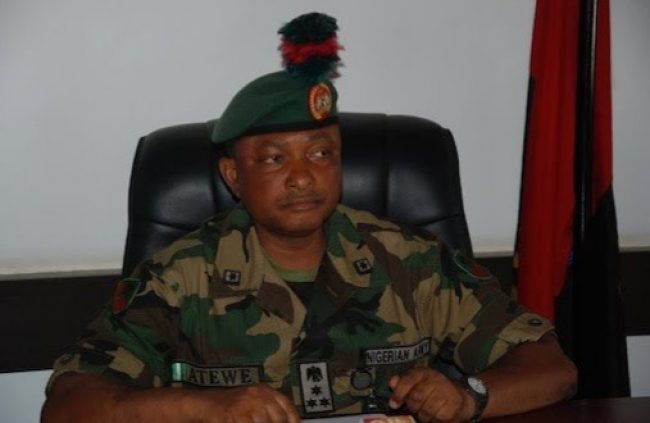 Major Gen. Emmanuel Atewe